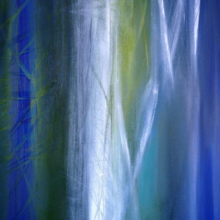 "Patrizia Biaducci 2016 ""Betulla"" oil on canvas cm 80x80"