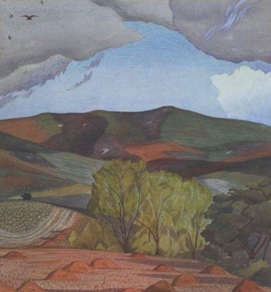 john nash painter   John Nash, Dorset Landscape