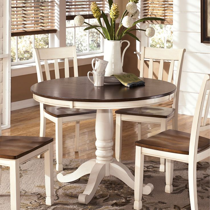 Bring A Touch Of Vintage Style To Your Home With The Whitesburg Round Dining Room Table Base And