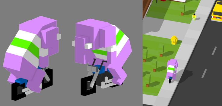 Elephant Biker!   #mobilegames #indiedev #indiegame #ios #androiddev #Android #unity #gamedevelopment #conceptart #pixelart #voxelart #watercolor #deliveryroad