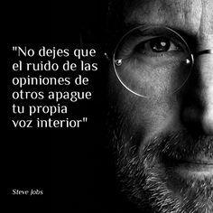 Me encanta Steve Jobs. Y tengo mi teléfono... es sincronía. Lo siento perdoname te amo gracias