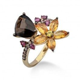 Bijuteria+teilor:+Inel+aur+si+diamante