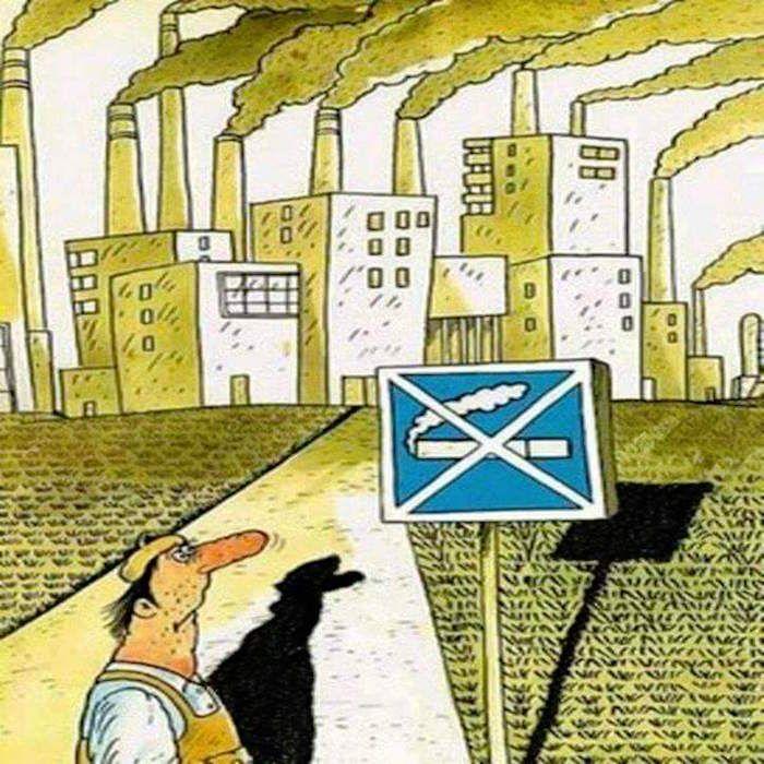 喫煙に関する風刺