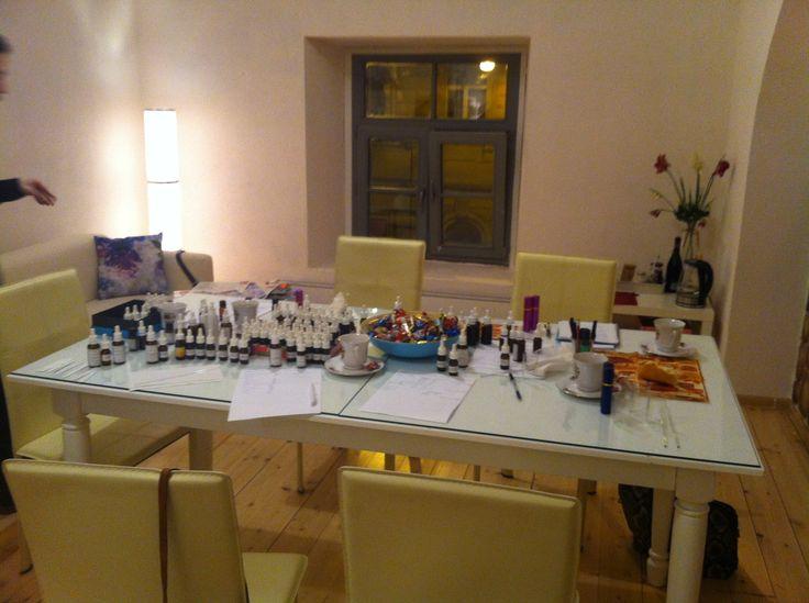 Занятие в лаборатории Натальи Светлой. Конец января, 2015.