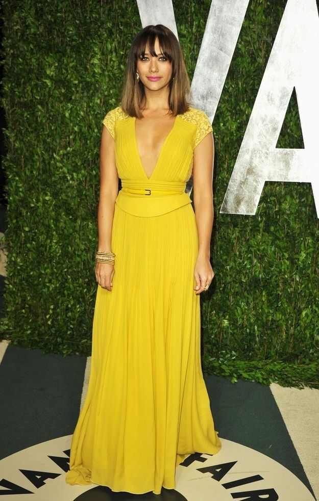 Rashida Jones Vanity Fair Oscars Afterparty