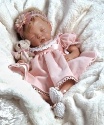 "Welcome our newest arrival!  Lifelike and Realistic Baby Doll - Baby Penelope! An 10 piece Ensemble! ""Baby Penelope"" will make your heart sm..."