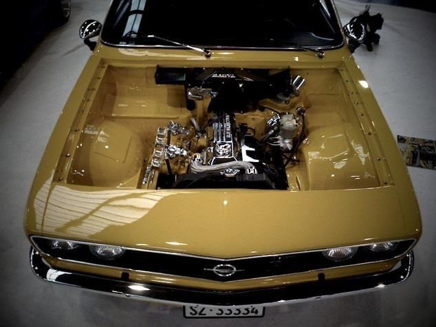 Prettty good looking Opel Manta A