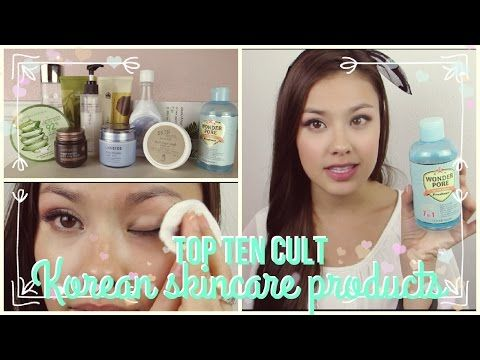 Part 1: Top 10 Best Korean Cult / Must Have Skincare Product Favorites - YouTube