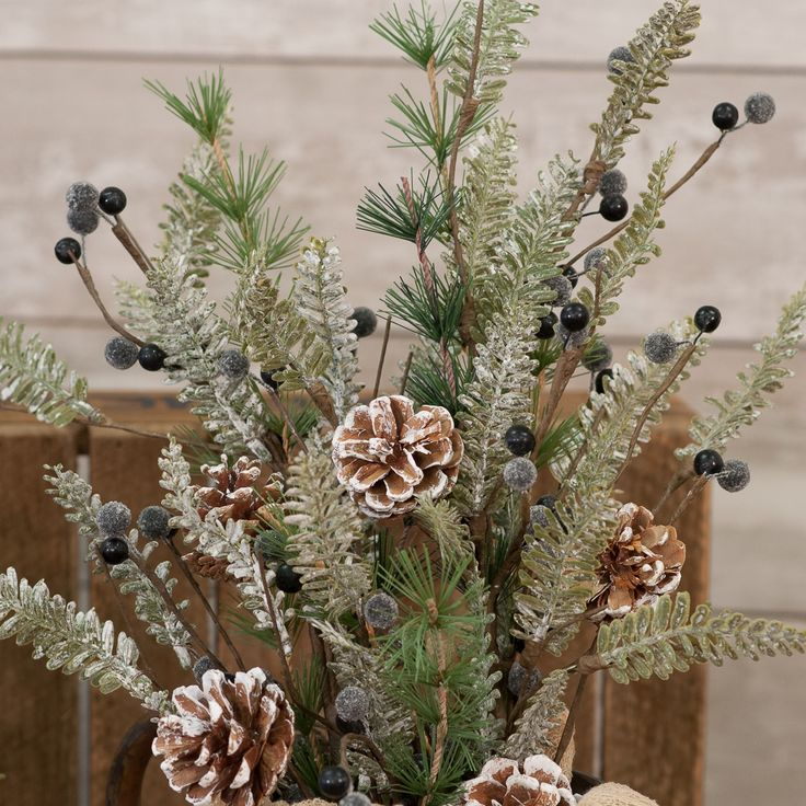 Blueberry Fir Pick (With images) | Christmas decorations ...