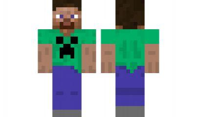 Steve Minecraft Skin Download minecraft skin Steve-C...