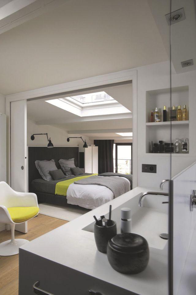 17 meilleures id es propos de plan suite parentale sur pinterest suite master plan de. Black Bedroom Furniture Sets. Home Design Ideas