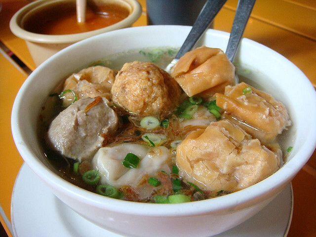 Indonesian Food. | Bakwan Malang.