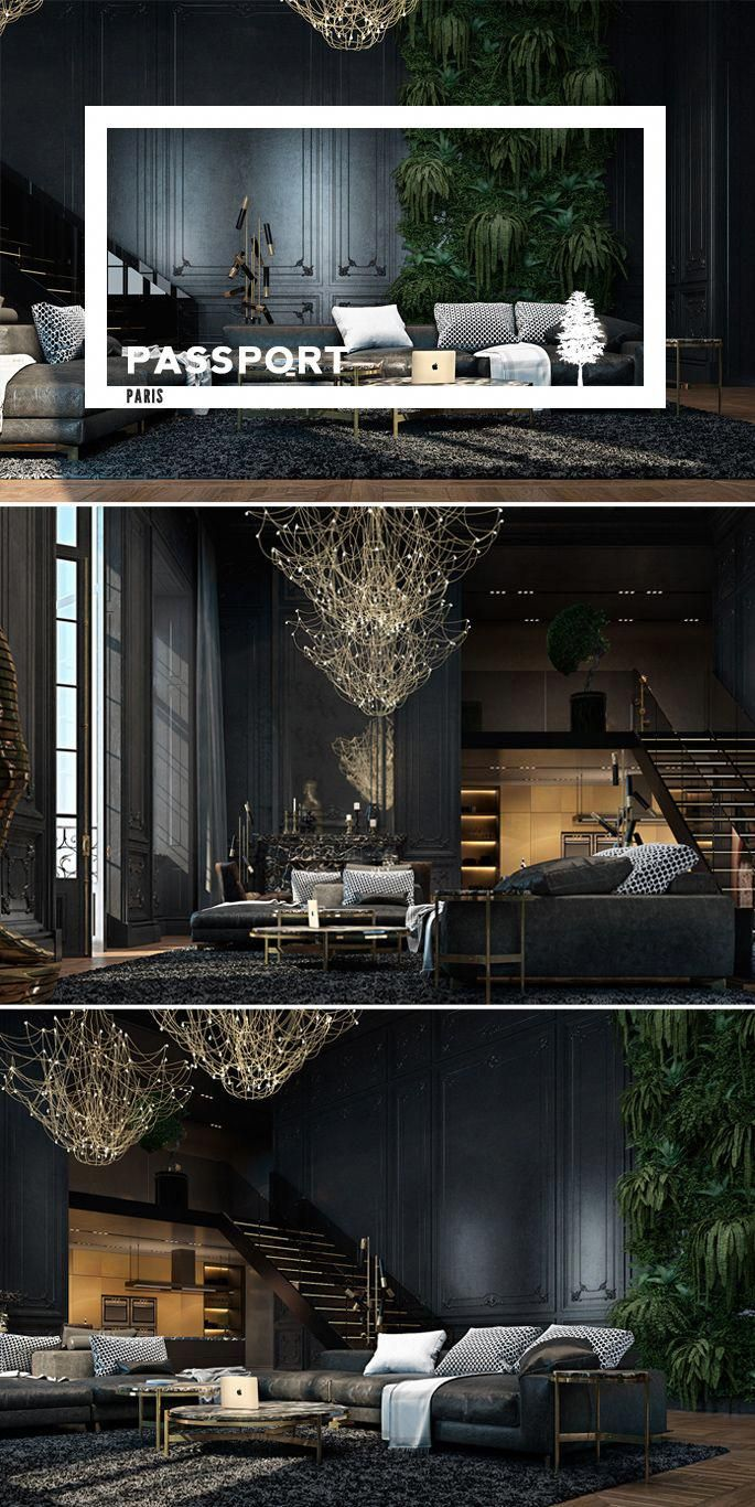 PASSPORT: Luxury Black Paris Loft Tour