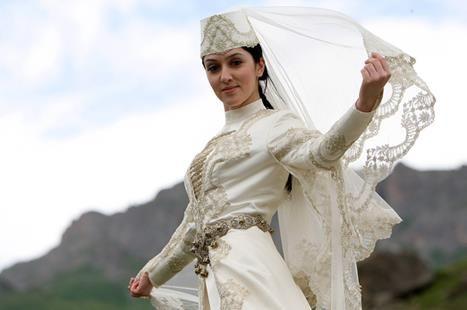 Что означает костюм осетинской невесты