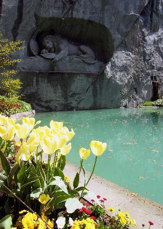 Lion monument, Lucerne Switzerland