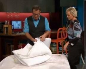 Как вставить одеяло в пододеяльник за 90 секунд (Видео) - BlogNews.am - Твой путеводитель в блогосфере