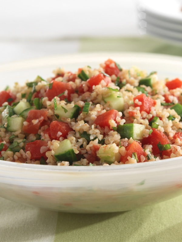 This Tabbouleh Salad is the perfect light dish for summer.