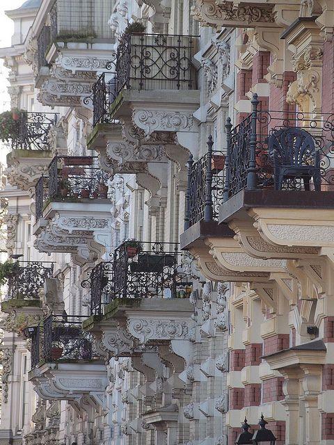 balconies #hamburg <<< repinned by www.BlickeDeeler.de