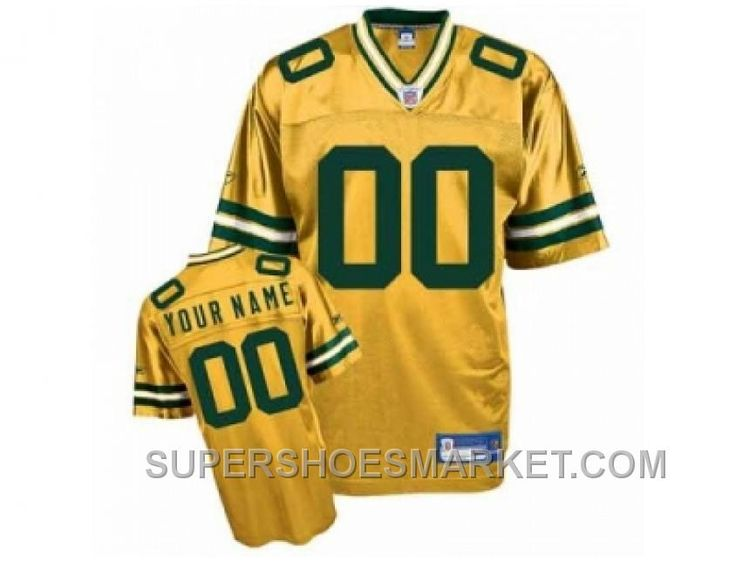 http://www.supershoesmarket.com/customized-green-bay-packers-jersey-youth-eqt-yellow-football-for-sale.html CUSTOMIZED GREEN BAY PACKERS JERSEY YOUTH EQT YELLOW FOOTBALL FOR SALE Only $85.00 , Free Shipping!