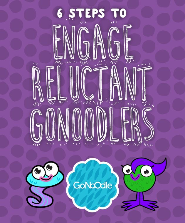 6 Steps to Engage Reluctant GoNoodlers- this is amaxing...loving GoNoodle!!
