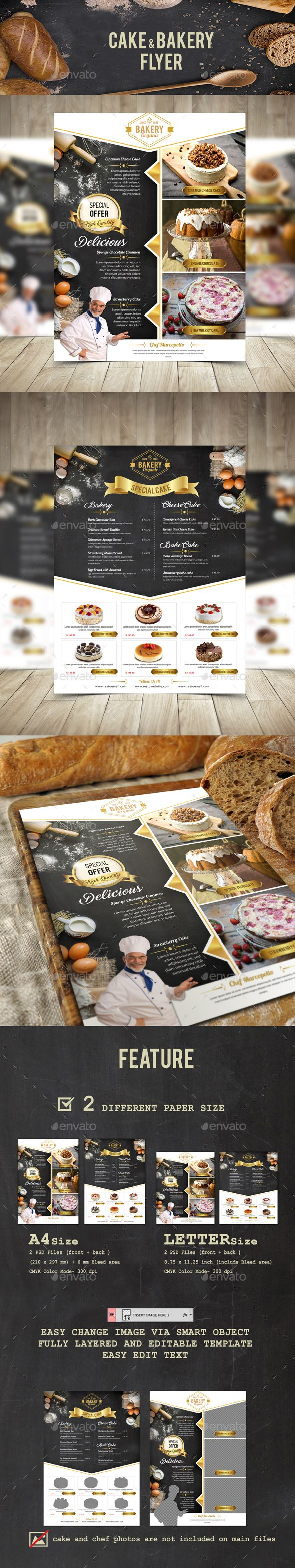 Cake and Bakery Flyer