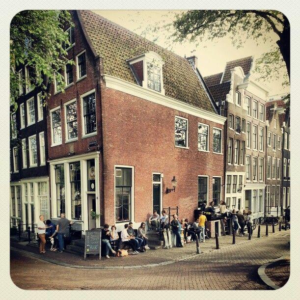 Tabac #brouwersgracht #amsterdam café