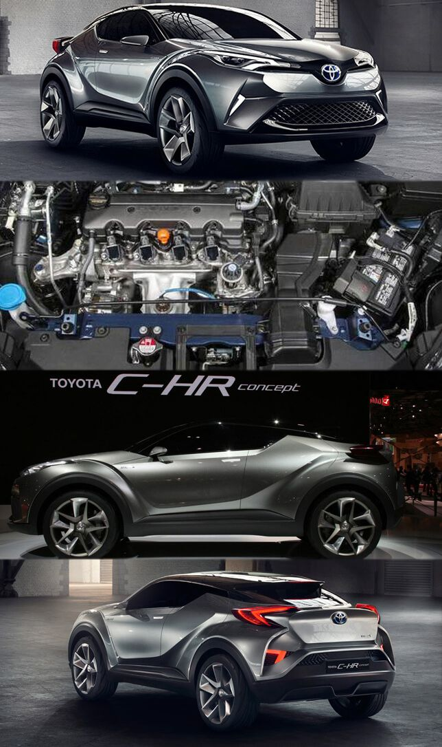 Toyota C-HR Crossover Makes its Way to Geneva Get more details at: http://www.replacementengines.co.uk/blog/toyota-c-hr-crossover-makes-its-way-to-geneva/