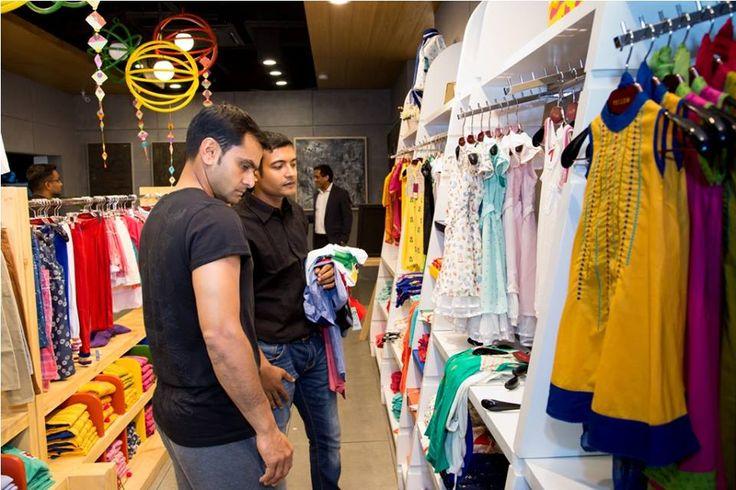 Pakistani Team On Bangladeshi Fashion House Yellow
