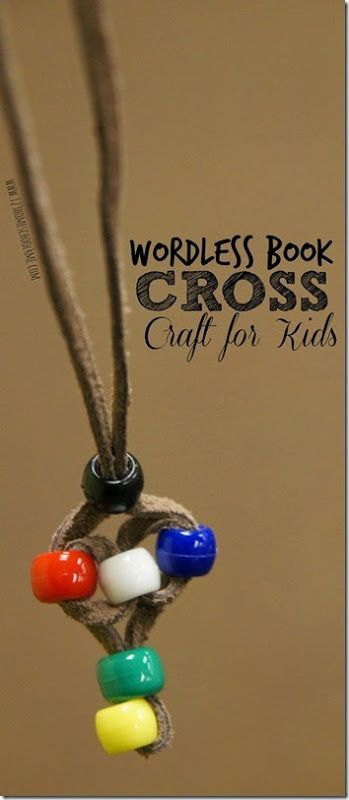 Wordless Book Cross Crafts And Sunday School Lessons On
