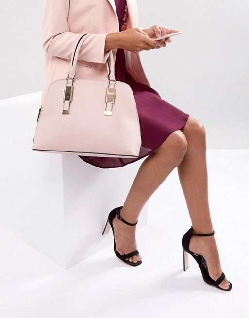 f5f6aacd06 ALDO Dome Tote Bag with Top Handle in Blush   Hangbags   Bags, Shoulder bag,  Tops