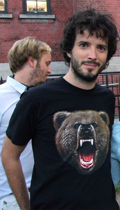 Nice bear shirt Bret!