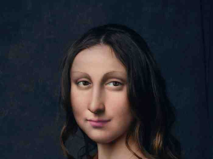 حساب Untitled Save على انستجرام يتخيل شخصيات فنية قديمة لو كانت في عصرنا الحالي فن موناليزا
