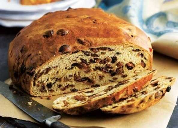 Traditionally served at Halloween, this fruity Irish bread is best enjoyed with a generous helping of butter.