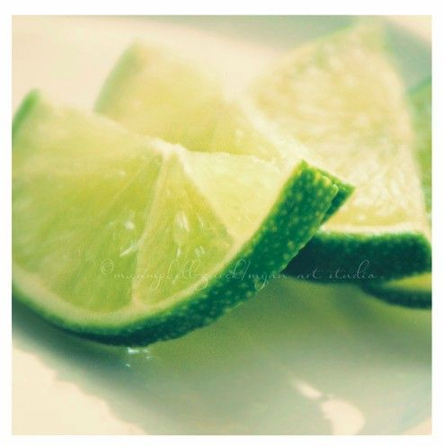 still life, food photography, lime slices photograph, i'm a lime girl myself, green citrus kitchen decor summer drinks fine art print 5x5.