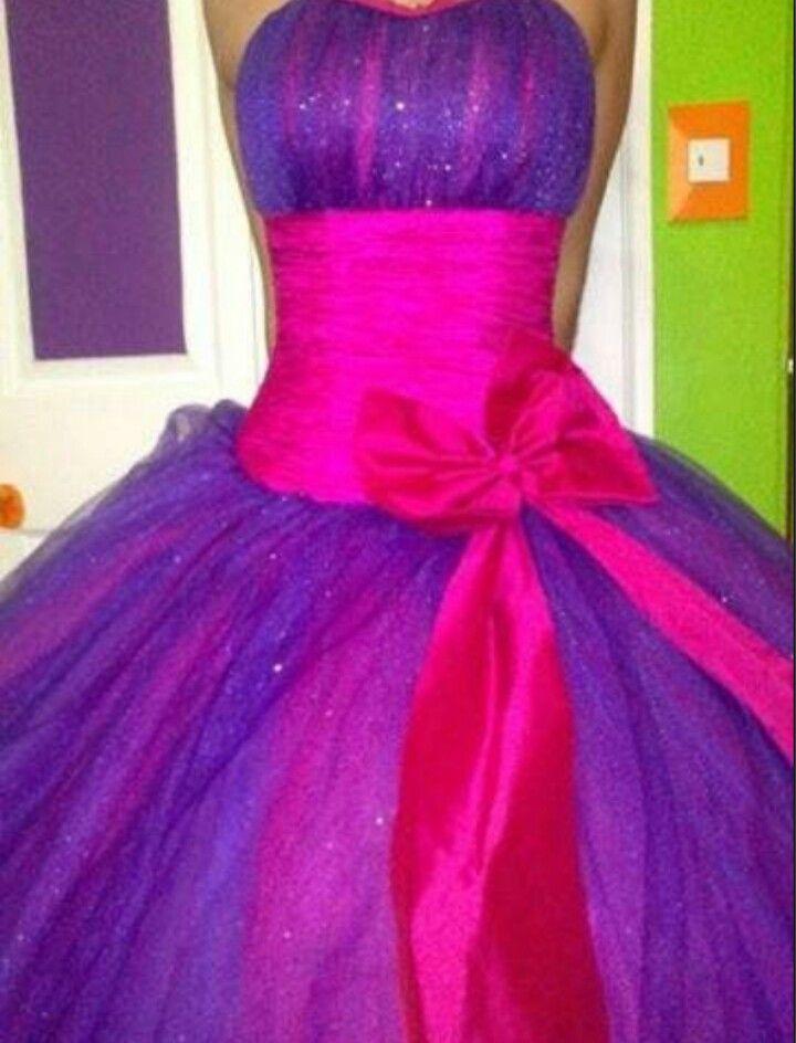 Mo 241 O Rosa Con Morado Vestidos De Xv Pinterest