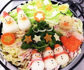 クリスマス デコ鍋