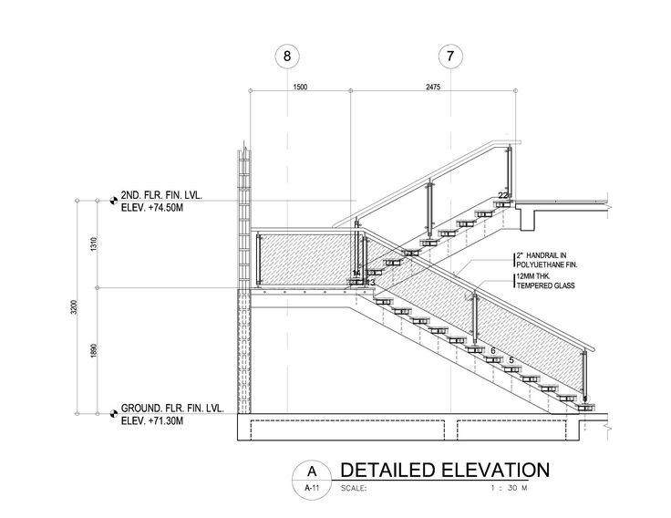 A Modern Cantilever Staircase In Steel And Wood Concrete Stairs Stair Detail Steel Stairs