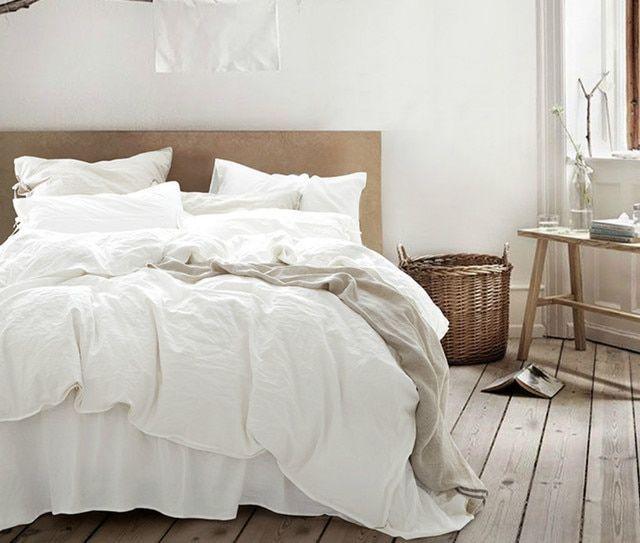 White Linen Duvet Cover Timeless Style Natural Linen Bedding Washed Linen Linenduvetcover Linen White Linen Duvet Covers White Duvet White Duvet Covers