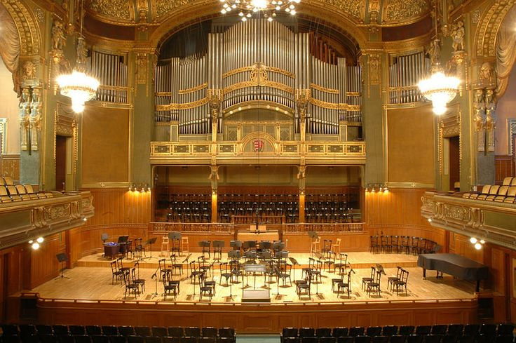 Liszt Academy of Music in Budapest, HUNGARY