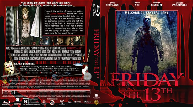 Friday The 13th Part 12-2009 Blu-ray Custom Cover