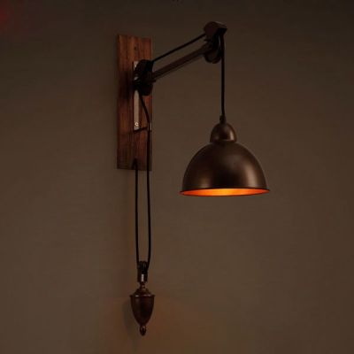 Loft RH Wall L&s American Country Pulley Pendant Lights Adjustable Wire L&s Retractable Bar Lighting Creative & 424 best Ideas for the House images on Pinterest | Bathroom wall ... azcodes.com