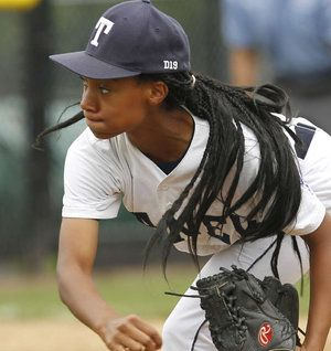 #whyilovephilly Mo'ne Davis   First Girl to be the Winning Pitcher in Little League World Series History