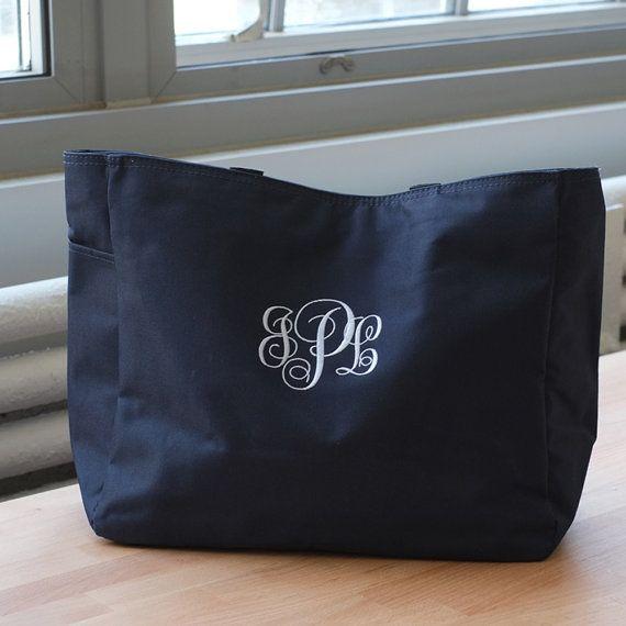 Monogrammata con monogramma Tote Bag borsa di DesignWithinYou