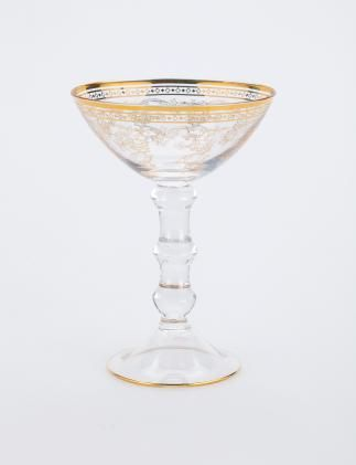 CHAMPAGNE glass gold | Drinkware | null | Glass and Porcelain | Interior | INDISKA Shop Online