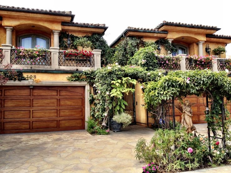 305 best images about mediterranean and spanish revival for Spanish revival exterior paint colors