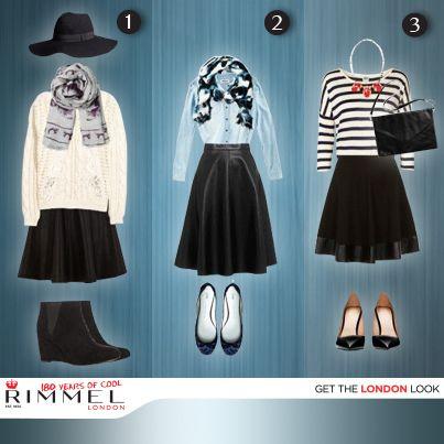 Checa cómo combinar una falda negra de piel, perfecta para los últimos días de invierno. ¿Cuál es tu outfit favorito? (Foto: cocomamastyle.com)