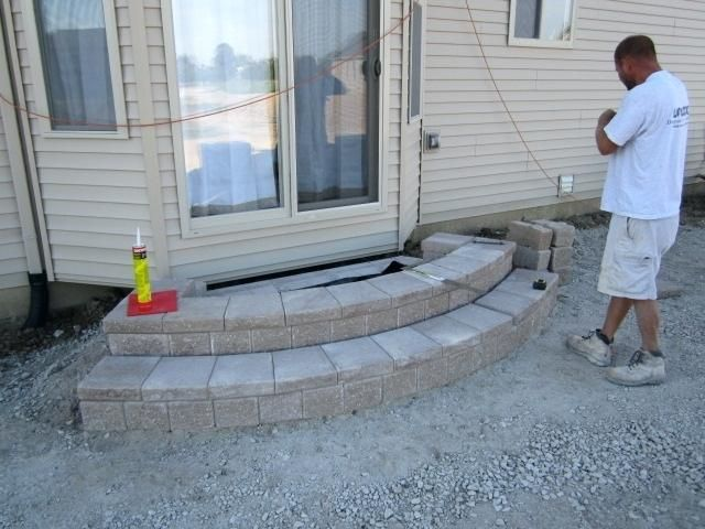 Stone Patio Steps Ideas How To Make Patio Steps With Ideas Paver | Paver Patio Steps Designs | Retaining Wall Pergola | Landscaping | Building | Easy Diy | Stair