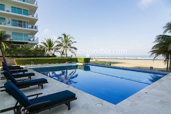 Edificio en Morros Cartagena, fantástica piscina, hermosa vista, salida directa a la playa, ubicado en una de las mejores zonas que ofrece Livincolombia para que su estancia sea inolvidable.