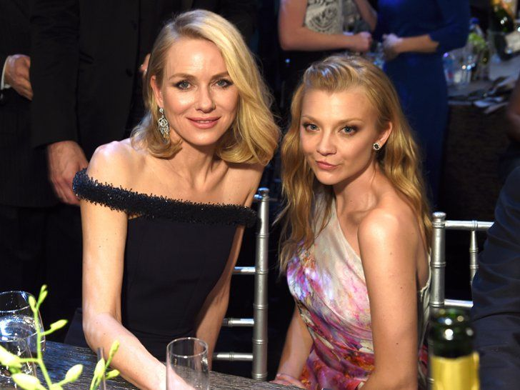 Pin for Later: The Game of Thrones Cast Mingled With Famous Faces at the SAG Awards Naomi Watts and Natalie Dormer (Margaery Tyrell)