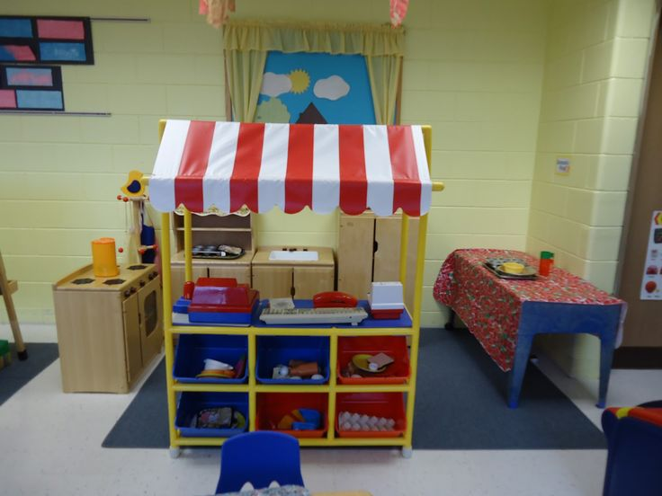 preschool set up ideas   One of our classrooms uses this store front type of set up , but the ...